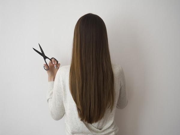 232. Aktualizacja włosów - krem myjący Elseve, podcięcie końcówek