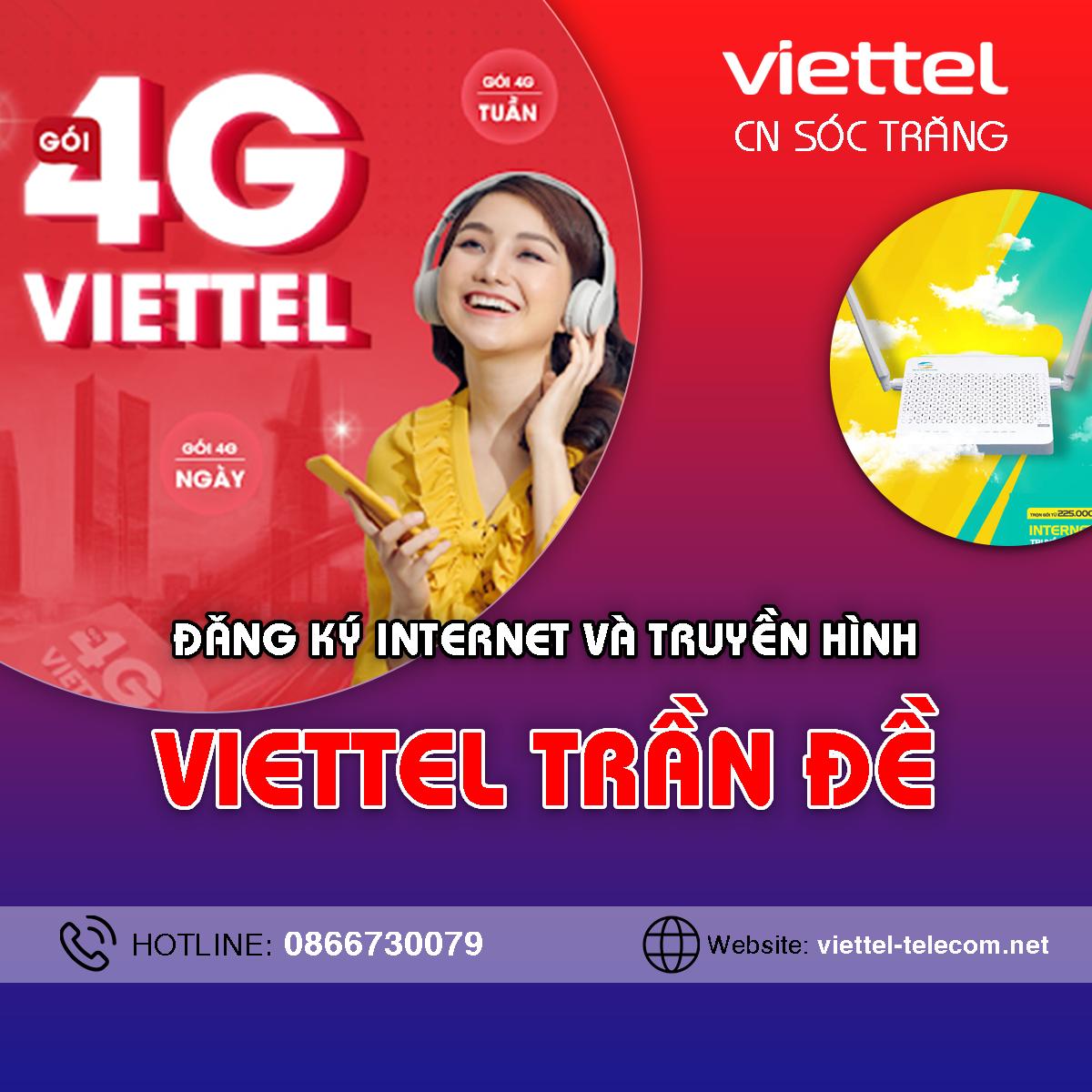 Cửa hàng Viettel huyện Trần Đề