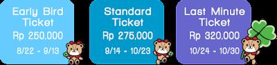 Harga Tiket Hello Kitty Run 2016 Tangerang Selatan AEON Mall BSD City Bumi serpong damai