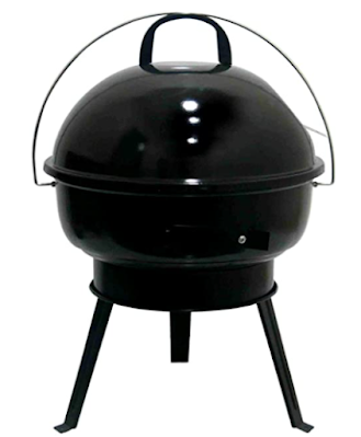 Fabrilla Round Charcoal Barbeque Grill Set with Legs