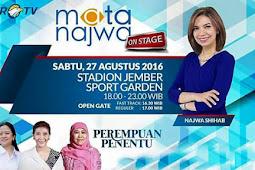 Mata Najwa On Stage Jember Sport Garden - Perempuan Penentu