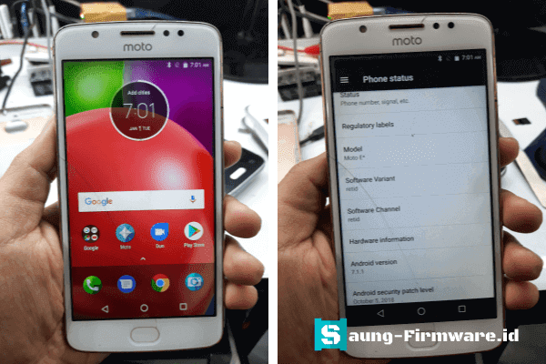 Bypass FRP Moto E4 X1760 Android 7.0 via Miracle Crack Tested