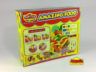 Fun-Doh Amazing Food Box, fun doh indonesia, fun doh surabaya, distributor fun doh surabaya, grosir fun doh surabaya, jual fun doh lengkap, mainan anak edukatif, mainan lilin fun doh