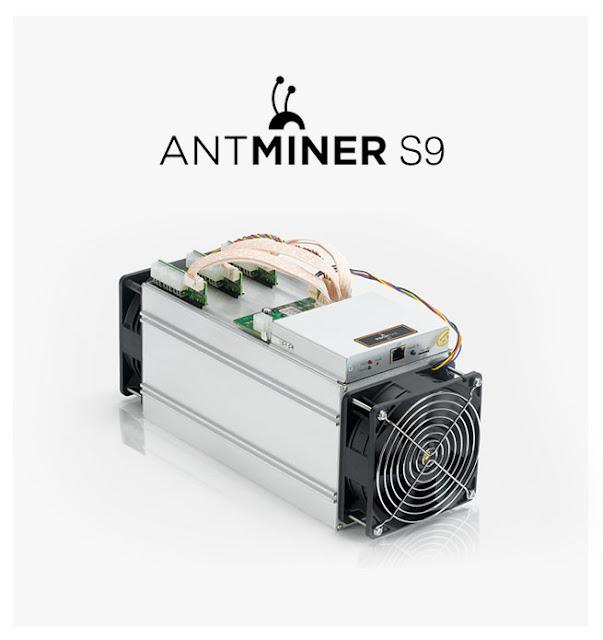 Comparación del Antminer S9 con otros mineros en la actualidad
