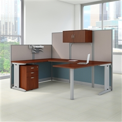 U Shaped Cubicle - Office In An Hour