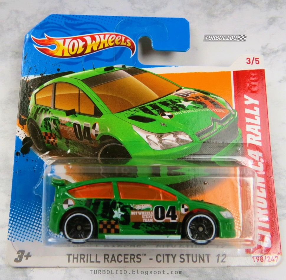 TURBOLIDO Cars: HOT WHEELS CITROËN C4 RALLY / HW V5502