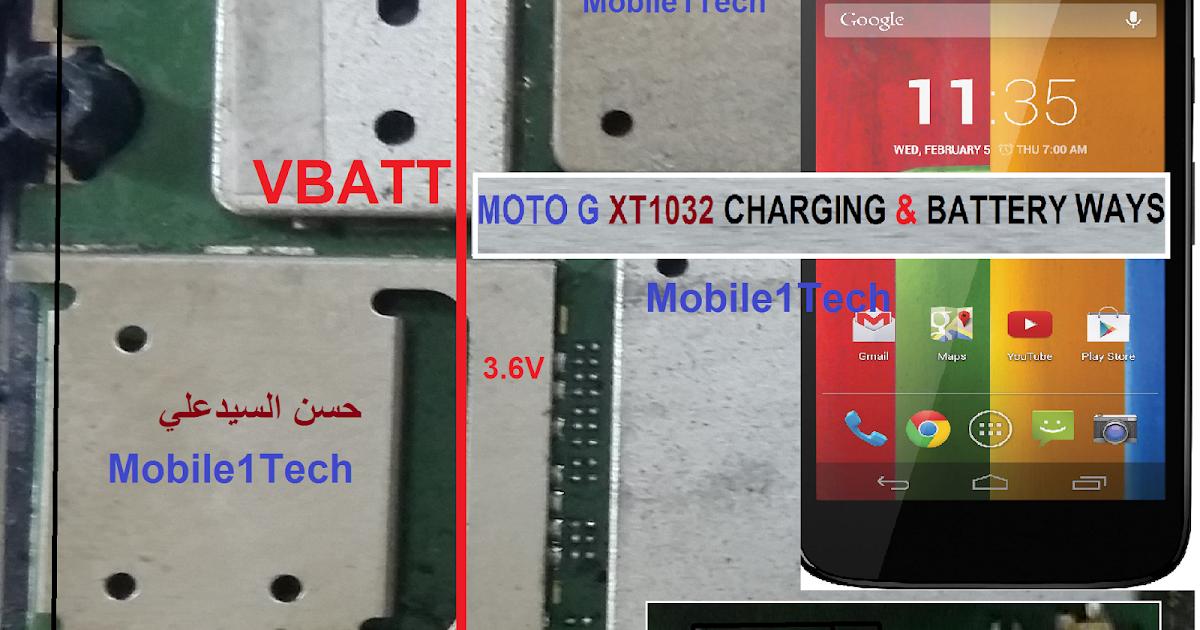 MOTOROLA MOTO G (XT1032) CHARGING & BATTERY WAYS | Mobile1Tech