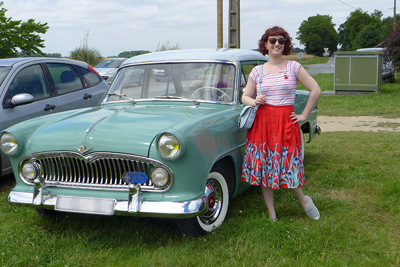 simca versailles V8 1954 - le dressing de sarablabla