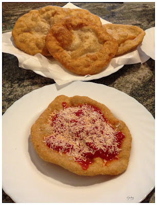 Pizze fritte con pasta madre