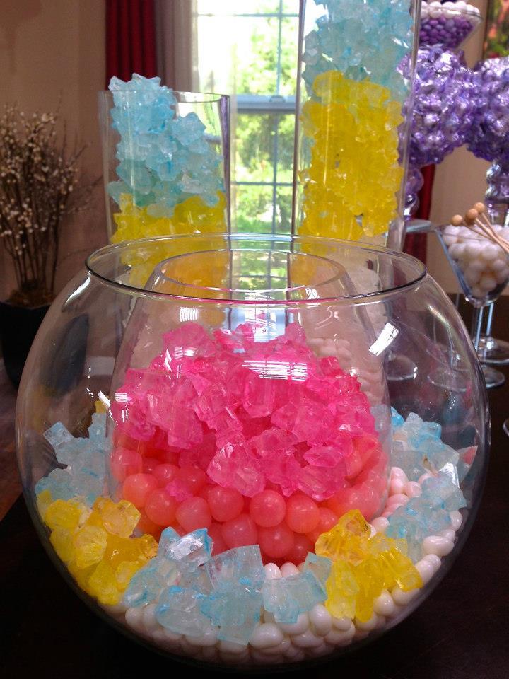 Sensational Chic Modern Candy Centerpieces Candy Sweet Decor Rock Beutiful Home Inspiration Xortanetmahrainfo