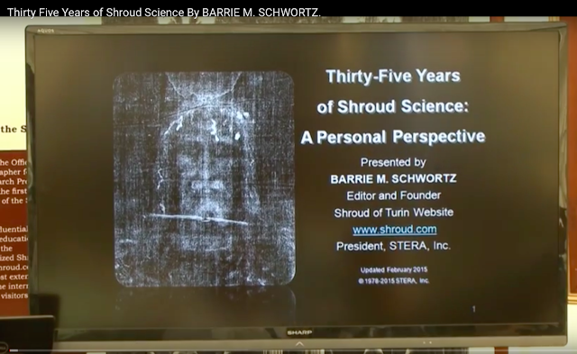 Thirty Five Years of Shroud Science By BARRIE M. SCHWORTZ.