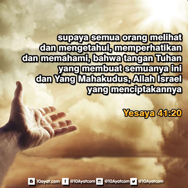 Yesaya 41:20