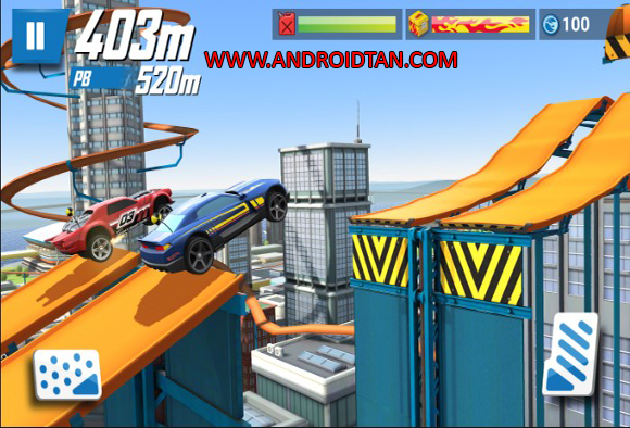 Fitur Game Hot Wheels Race Off Mod Apk