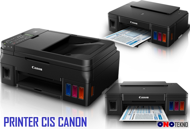 MERK CANON PRINTER INFUS / CIS ORIGINAL