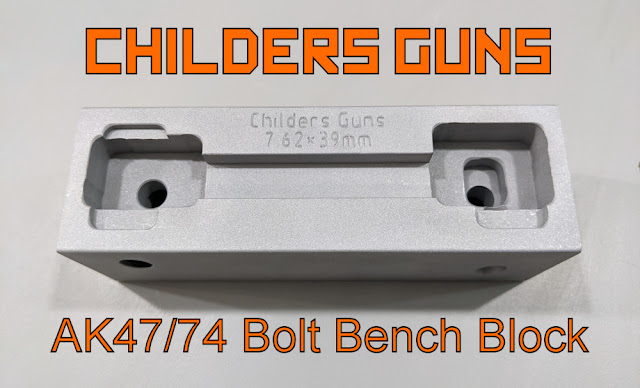 Childers Guns Bench Block