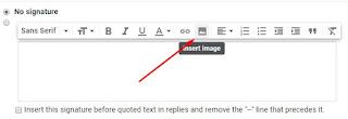 Cara Memasang Signature dengan Gambar di Gmail