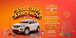 Cadastrar Promoção Produtos Bettanin 2019 - Carro 0KM Kwid