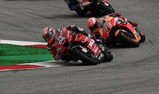 MOTO GP - Dovizioso volvió a evitar que Márquez ganara en Red Bull Ring