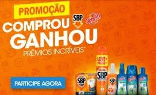 Cadastrar Nova Promoção SBP e Repelex 2019 Comprou Ganhou Prêmios