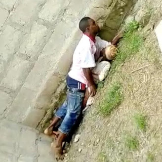 Video: 37-year-old Man Caught Raping A 9-year-old Girl In An Uncompleted Building