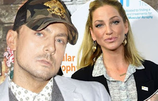 Sarah Harding picture attached with ex-boyfriend Paul Danan