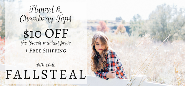 flannel and chabray coupons