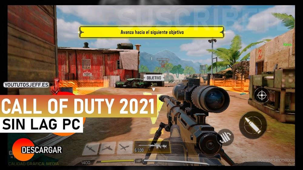 Como Descargar Call Of Duty Mobile para PC 2021 SIN LAG