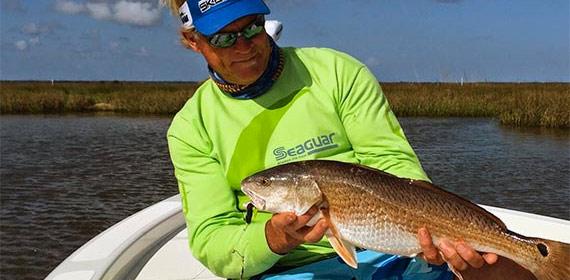 Capt Blair Wiggins Louisiana Redfish