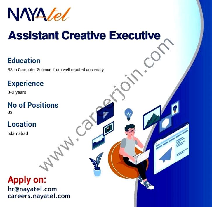 New Jobs in Nayatel Pakistan 2021