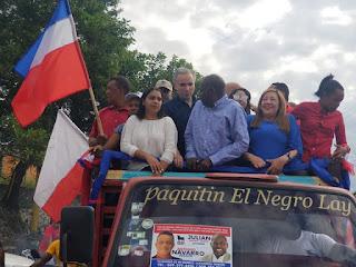 Candidato a la alcaldía de Villa Altagracia Julián Mateo encabeza gran marcha caravana y asegura su triunfo está asegurado
