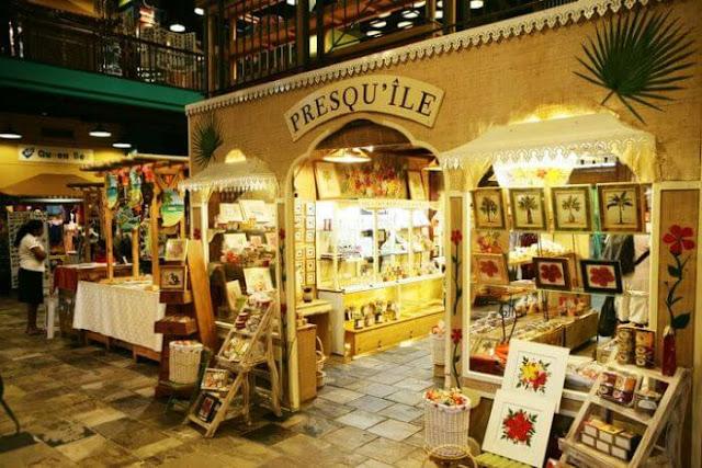 التسوق في موريشيوس