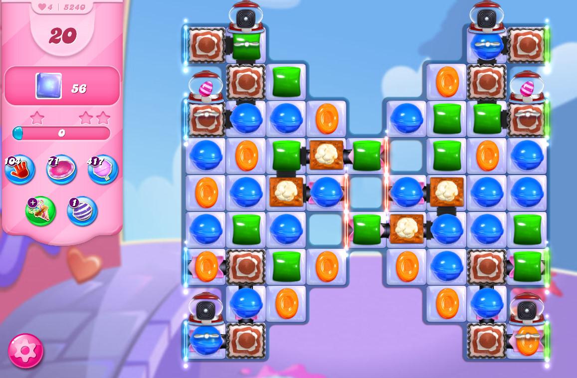Candy Crush Saga level 5240
