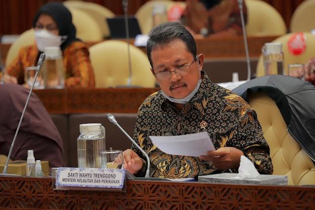 Kementerian KP Minta Tambah Pagu Anggaran Rp8,043 Triliun di 2022