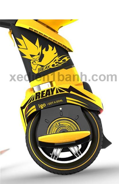 xe điện cân bằng x-robot igo màu vàng