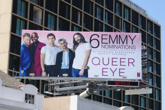 Queer Eye 2019 Emmy nominations billboard