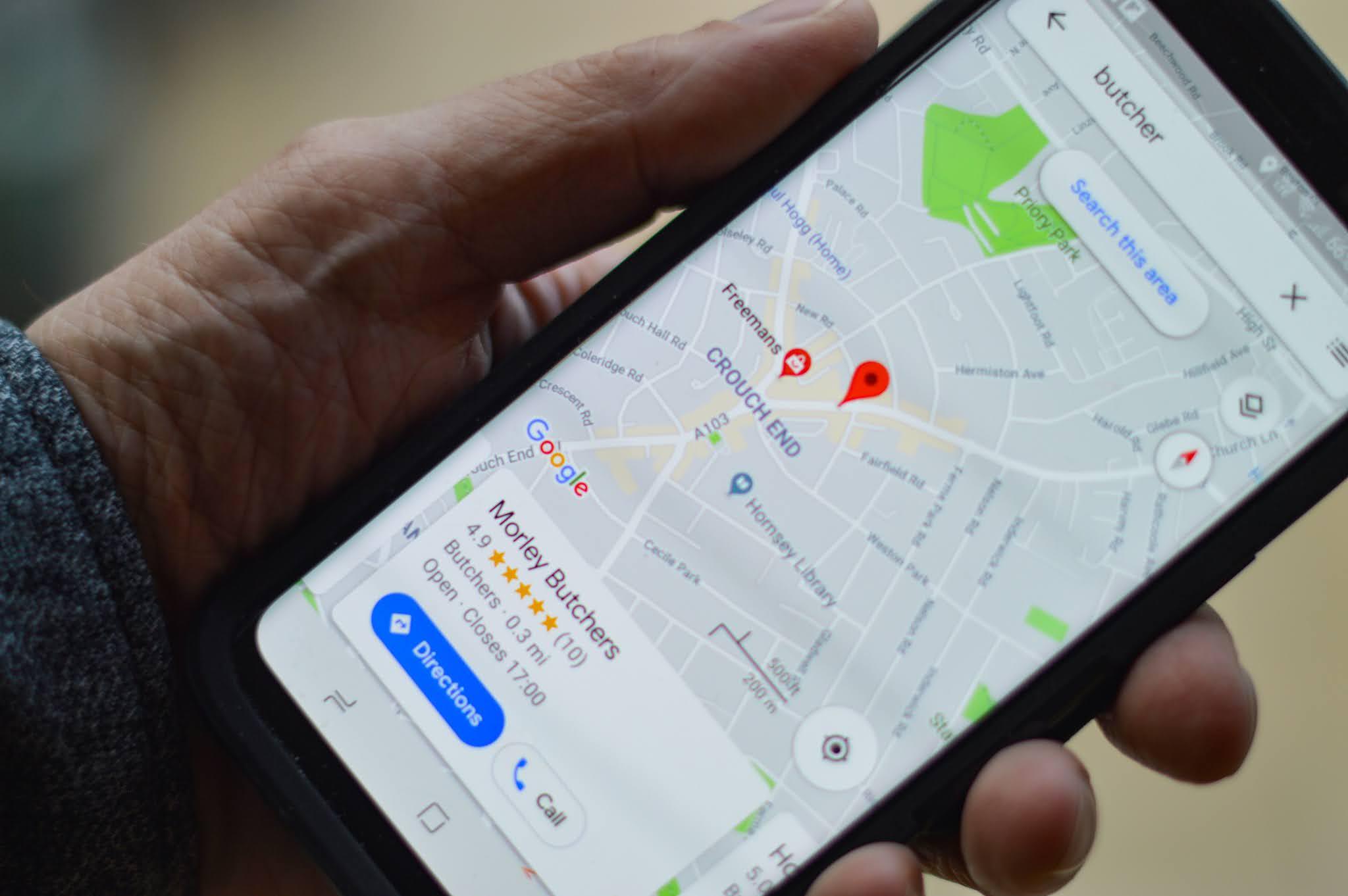 طريقة استخدام خرائط جوجل على الاندرويد؟