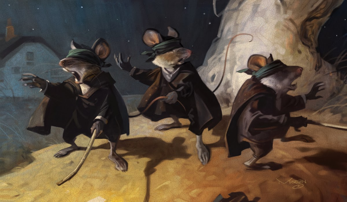 Jim Madsen Illustration Sketch Daily 3 Blind Mice