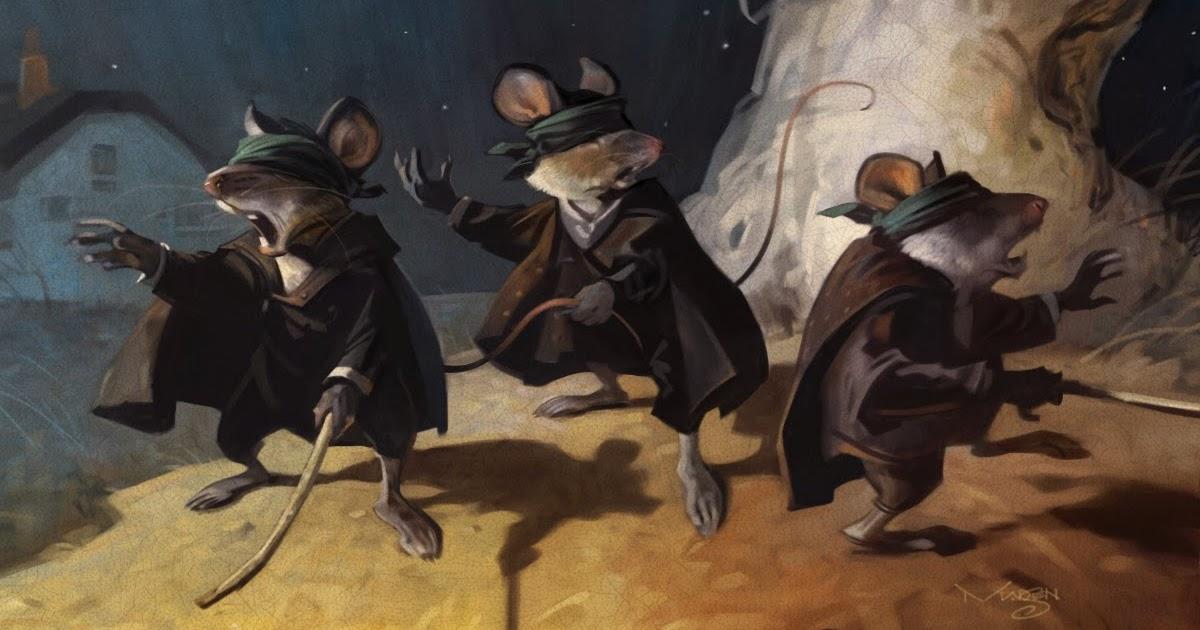 Jim Madsen Illustration Sketch Daily 3 Blind Mice