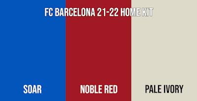 FC Barcelona Home Kit color 2021-22 Leaked