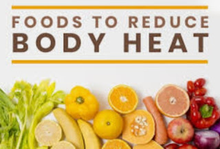 How to reduce body heat ?