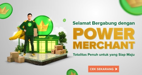 Cara Menjadi Power Merchant di Tokopedia Tanpa Biaya Bulanan