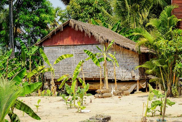 Village d'Angkor - Cambodge