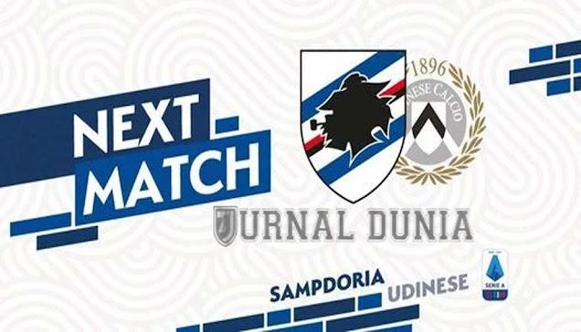 Prediksi Sampdoria vs Udinese , Minggu 17 Januari 2021 Pukul 02.45 WIB @beIN Sports 2