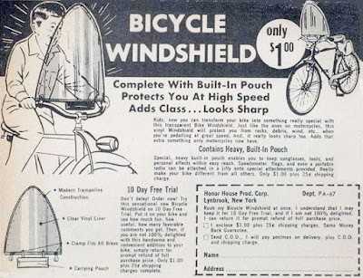 Bicycle Windshield