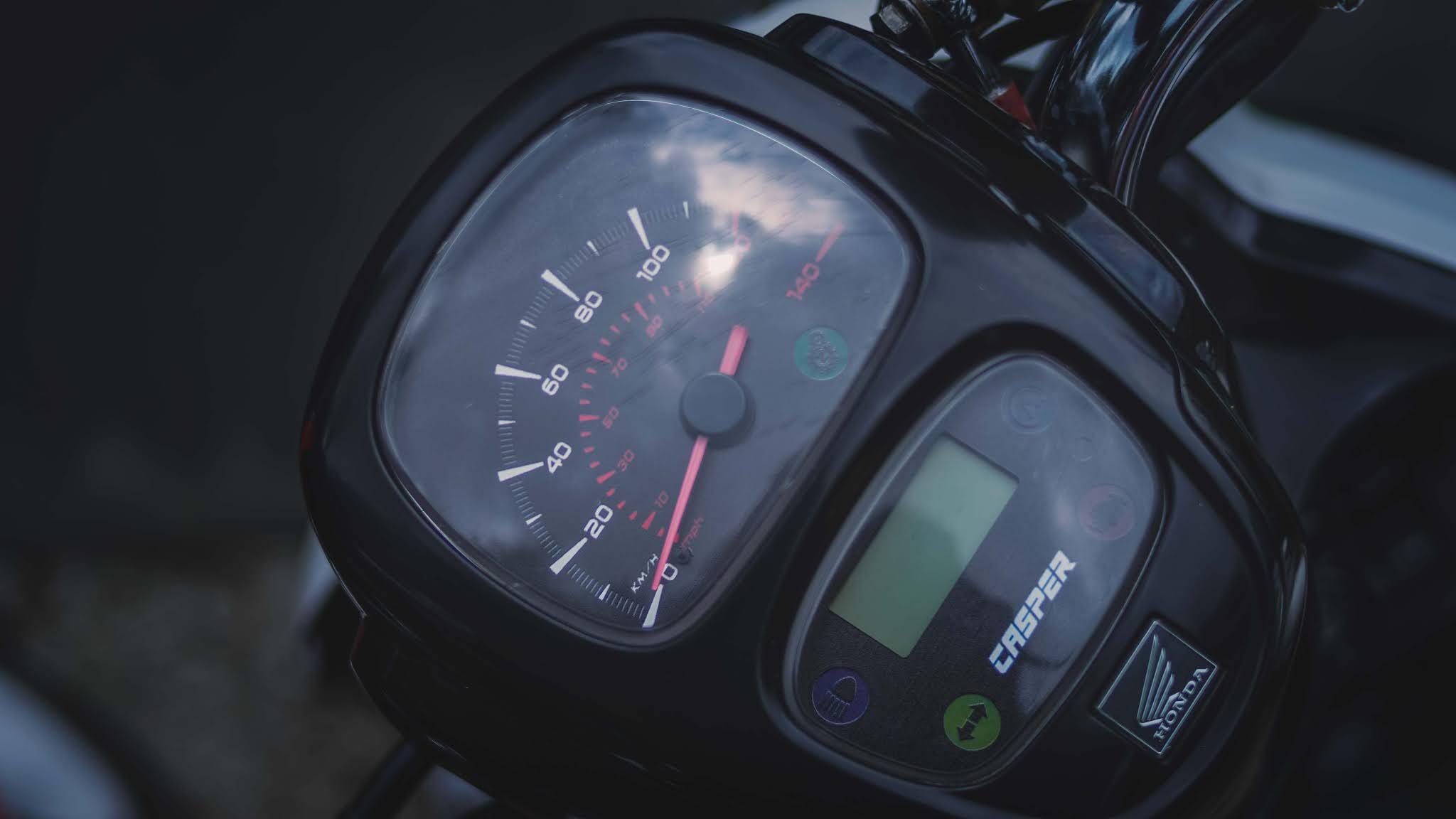 speedometer scoopy modif