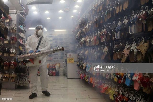 Iran kỷ lục hơn 1.200 ca nhiễm mới, thế giới vượt mốc 100.000 người bị nCoV