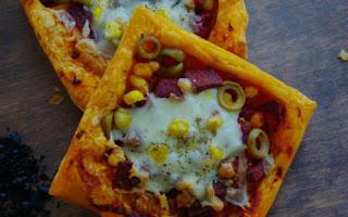 Milfoy Hamurundan Kolay Milfoy Pizzasi