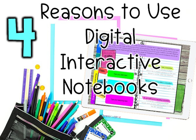Using Digital Interactive Notebooks DINBs in Your remote learning classroom