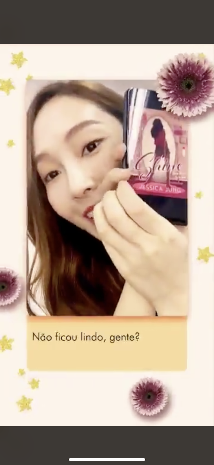 Knetz Shares Their Thought About Jessica Jung S Book Cover Of Shine