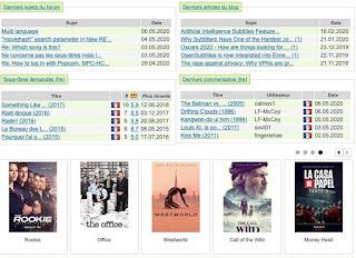 Télécharger des sous-titres de films et séries